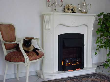 elektrischer elektrokamin marseille. Black Bedroom Furniture Sets. Home Design Ideas